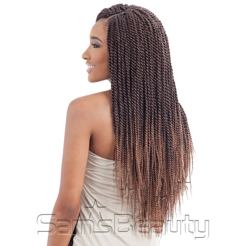 Crochet Braids Small Twist : ModelModel Synthetic Hair Crochet Braids Glance Senegalese Twist Small