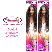 Vanessa Synthetic Hair Weave Nabi Super Weave Jordan 30 6Pcs