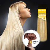 Bohyme Remi Human Hair Weave Gold Collection Silky Straight  Hand Tied