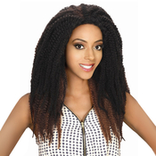 Royal Sis Synthetic Lace Front Wig Afro Lace Braid Mali Twist