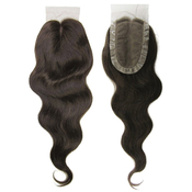 Vivica Fox Remy Human Hair Weave Deep Invisible Part 100 Handtied Swiss Lace Closure 17
