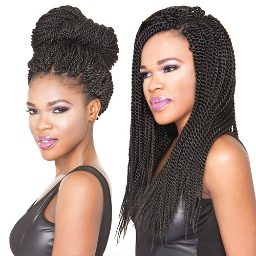 ISIS Synthetic Hair Crochet Braids Faux Remi Senegalese - Croshay Hairstyles