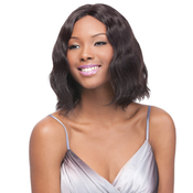 OUTRE Simply NonProcessed Human Hair Lace Front Wig Brazilian Natural Wave Bob