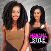ModelModel Synthetic Hair Weave Double Strand Style Havana Twist Mojito Twist Weave