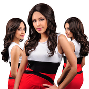 Harlem125 Synthetic Lace Front Wig Banana Part Collection LBP03