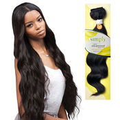 Outre Simply NonProcessed Brazilian Human Hair Weave Natural Drop Body