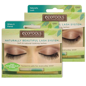 ECOTOOLS Naturally Beautiful Lash System Soft AMP; Naturallooking Lashes