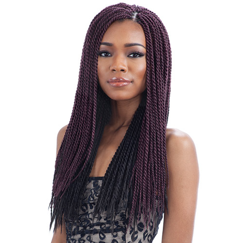 Crochet Braids Small Twist : FreeTress Synthetic Hair Crochet Braid Single Twist Small - SamsBeauty