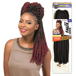 Sensationnel Synthetic Hair Crochet Braids African Collection Soft Faux Locs 14