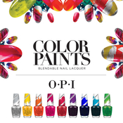 OPI Color Paints Blendable Nail Lacquer
