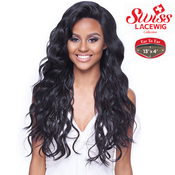 Harlem125 Synthetic Hair Lace Front Wig 13X4 Swiss Silk Base FLS50