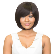 Diana Human Hair Wig Natural Yaki Tina