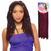 Janet Collection Synthetic Hair Crochet Braids 2X Havana Mambo Faux Locs 14 Dreadlock