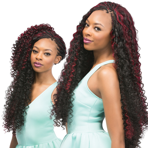 Xpression Crochet Hair Bohemian : Outre Synthetic Hair Crochet Braids X-Pression Braid Bohemian Curl 24 ...