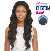 Sensationnel Synthetic Hair Half Wig Instant Weave Custom Fit Violet