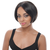 Janet Collection Synthetic Hair Whole Lace Wig Tear Away Mini
