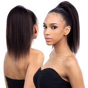 Saga Naked Unprocessed Brazilian Virgin Remy Human Hair Drawstring Ponytail Remy Wizard 12