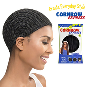 Vivica Fox Cornrow Express Straight Back Regular Cap