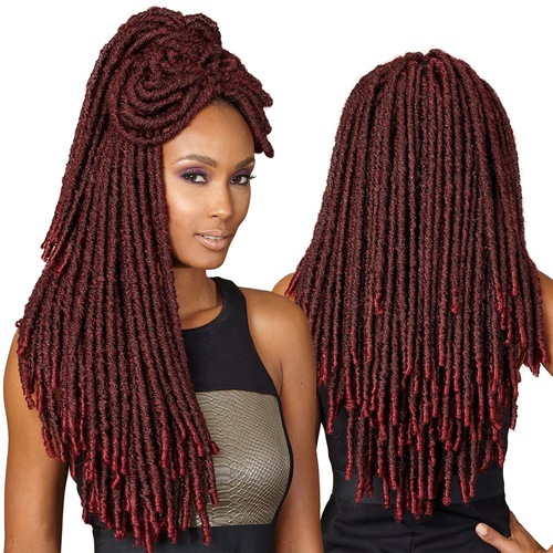 Crocheting Locs : ... Boss Synthetic Hair Crochet Braids Bomba Dreadlocks Faux Locs Soul