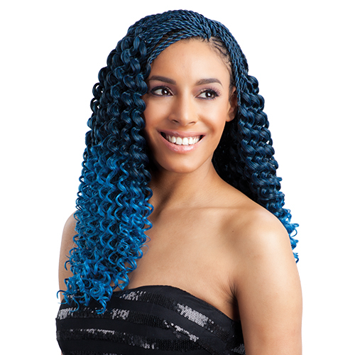 Crochet Hair Pre Curled : FreeTress Synthetic Hair Crochet Braids Pre-Curled Bohemian ...
