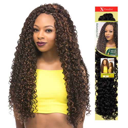 Hairstyles with bahamas curl by xpression outre crochetbraids protectivestyles hair on - Crochet braids avec xpression ...