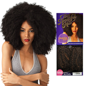 Outre Human Hair Blend Weave Premium Purple Pack 1 Pack Solution Big Beautiful Hair 4CCoily