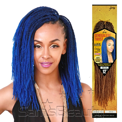 Crochet Braids With Zury Hair : Royal Zury Synthetic Hair Crochet Braids Senegalese Twist 12 ...