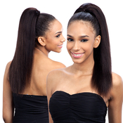 Saga Naked Unprocessed Brazilian Virgin Remy Human Hair Drawstring Ponytail Remy Wizard 18