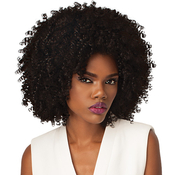 Outre Synthetic Hair Half Wig Quick Weave Big Beautiful Hair 4AKinky