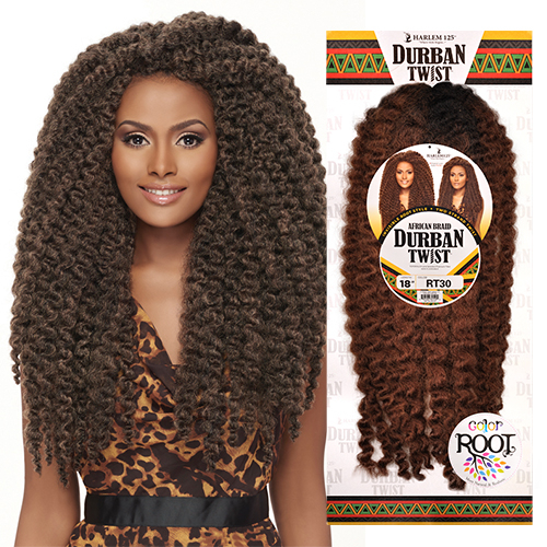 HALEM125 Synthetic Hair Crochet Braids African Braid Durban Twist 18