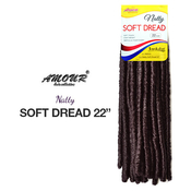 Amour Synthetic Hair Crochet Braids Natty Soft Dread 22