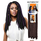 Authentic Synthetic Hair Crochet Braids 2X Faux Dread Locs 14 Faux Locs