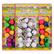 Big Kid Ball Ponytail Holders 10Pcs