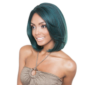 ISIS Human Hair Blend Lace Front Wig Brown Sugar French Stretch Lace BS701 Eclipse