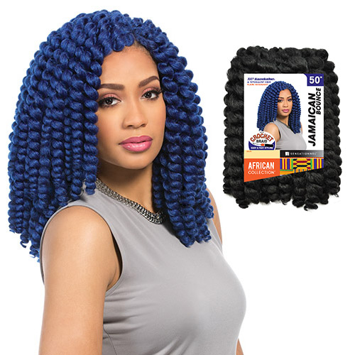 ... Synthetic Hair Crochet Braids African Collection Jamaican Bounce 50