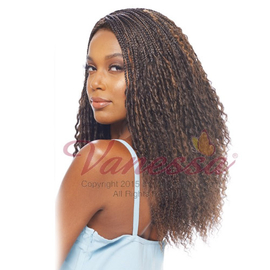 Vanessa Synthetic Hair Lace Front Wig Crochet Braid Top C Side Part ...