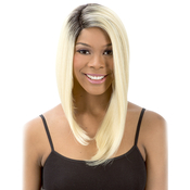 New Born Free Synthetic Lace Front Wig Curved Part Magic Lace MLC 174