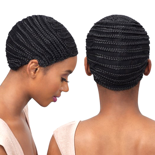 ModelModel Braided Cap For Crochet Braid And Weaves Full Bang Pattern ...
