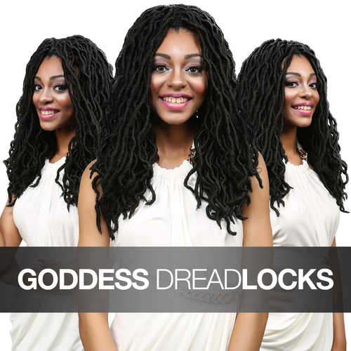 Crochet Goddess Locs : Crochet Faux Goddess Braid Locs