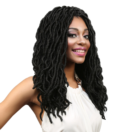 ... Kanekalon Crochet Braids Natty Goddess Dreadlocks 16 - SamsBeauty