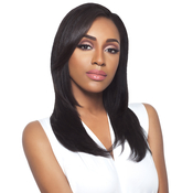 Outre Simply NonProcessed Brazilian Human Hair Half Wig Quick Weave Brazilian Natural Straight