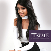 UpScale 100 Unprocessed Brazilian Virgin Remy Human Hair Lace Front Wig Natural Layered Straight