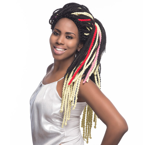 Crochet Yarn Braids : Vivica Fox Yarn Braids Virginia Yarn Twists Braid - Samsbeauty