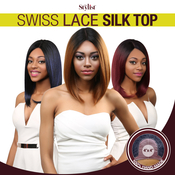 The Stylist Synthetic Lace Front Wig 4x4 Swiss Lace Silk Top Savvy Bob