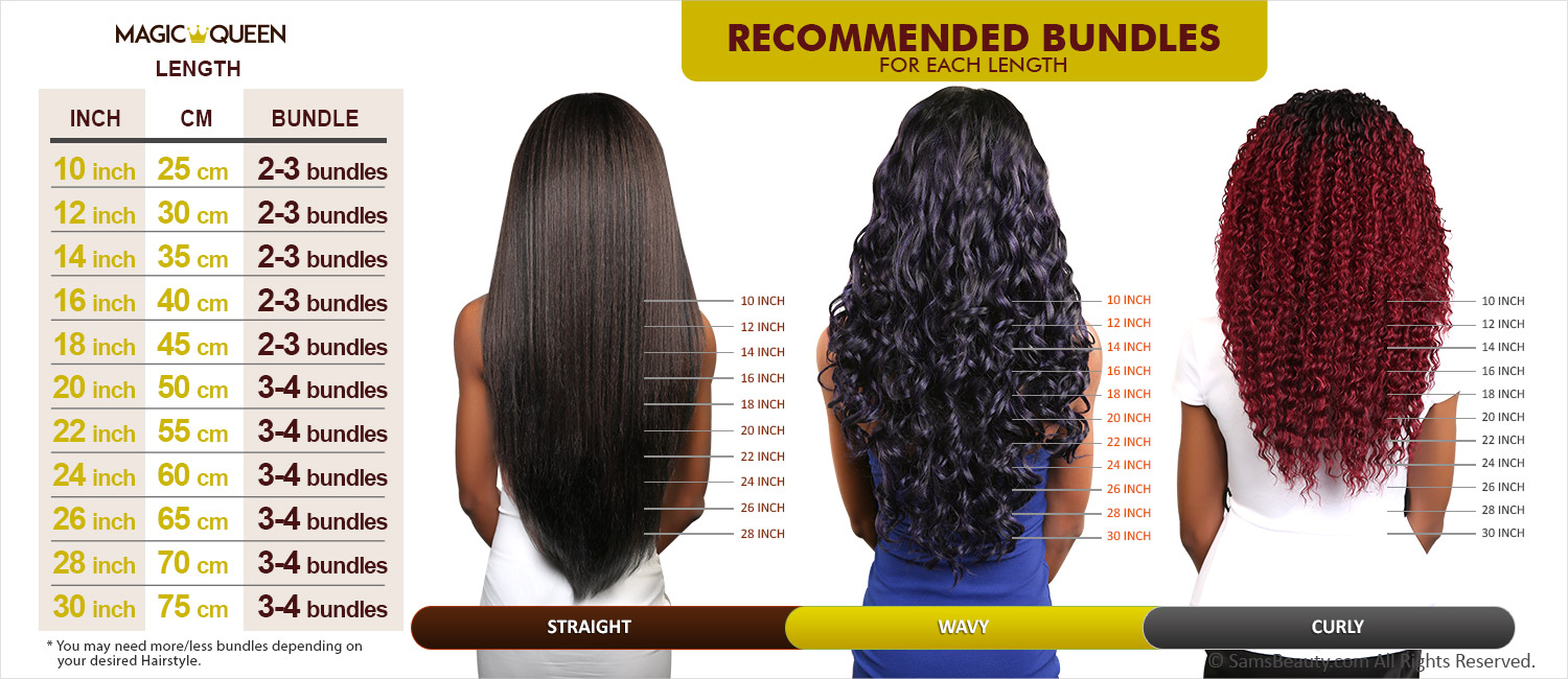Magic Queen Unprocessed 100 Virgin Human Hair Brazilian Bundle Hair
