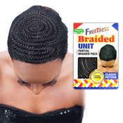 FreeTress Braided Unit Partial Braided Piece Classic pattern