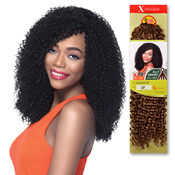 Outre Synthetic Hair Crochet Braids XPression Braid 4 In 1 Loop Jerry Curl 14