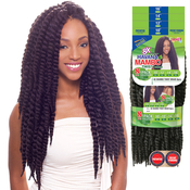 Janet Collection Synthetic Hair Braids 1 Pack Solution Havana 8X Mambo Twist Braid 10121416