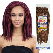 FreeTress Synthetic Hair Crochet Braids Epic Box Braid 10