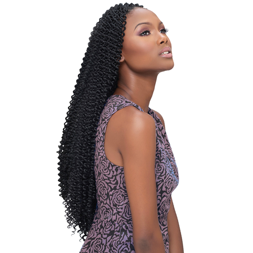 Harlem125 Synthetic Hair Crochet Braids Kima Braid Bohemian Curl 22 ...